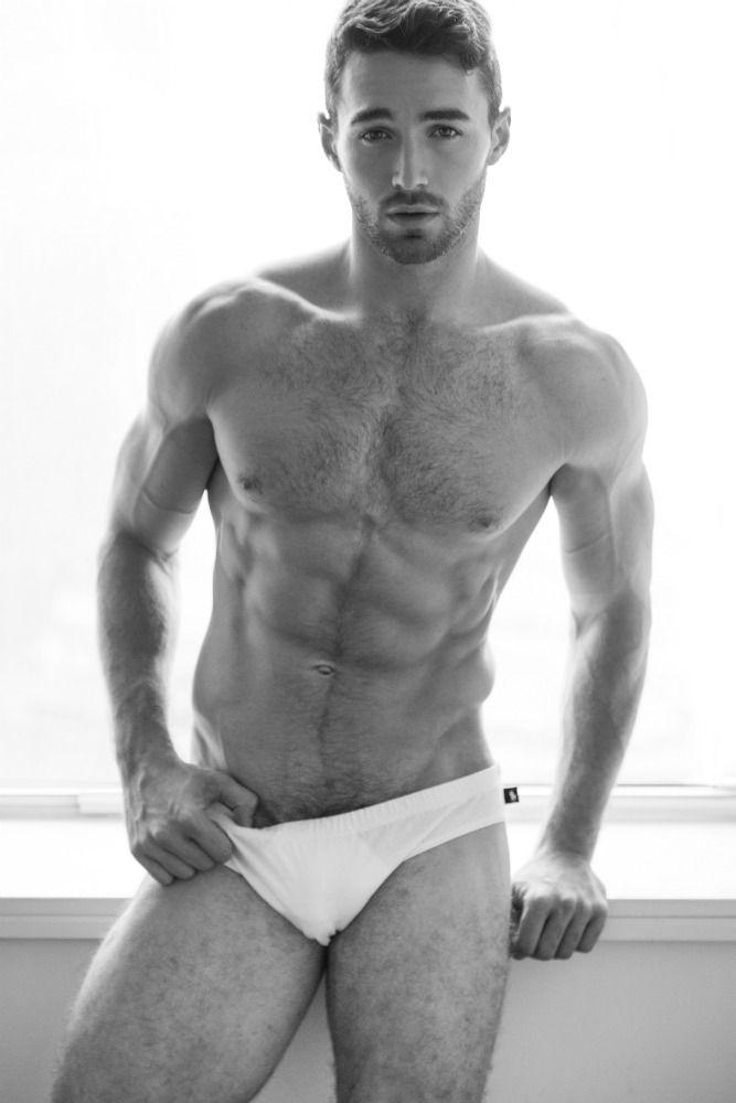 Fawcett porn sexy male models spread