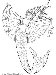 Enchanted Designs Fairy & Mermaid Blog: Free Fairy Fantasy Coloring ...
