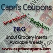 Enter to win 80 Whole Coupon Inserts from Capri's Coupons (ends 5/24/15)
