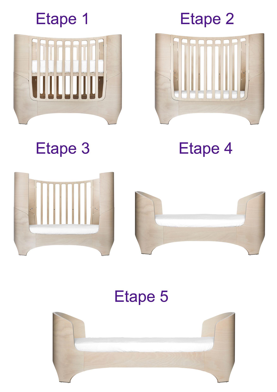 lit bebe evolutif taille. Black Bedroom Furniture Sets. Home Design Ideas