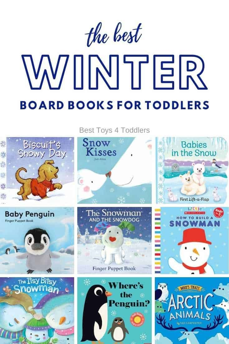 The Best Winter Board Books for Toddlers