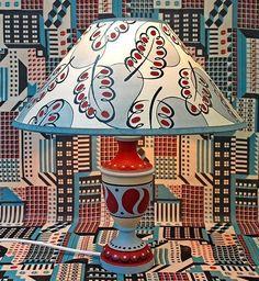 Cressida Bell Lamp Diy Lamp Shade Painting Lamp Shades Small Lamp Shades