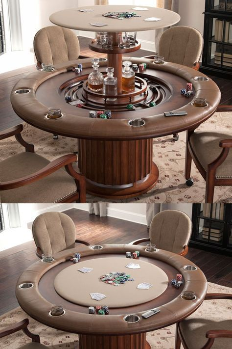 Ultimate Poker Table In 2019 Custom Poker Tables Round