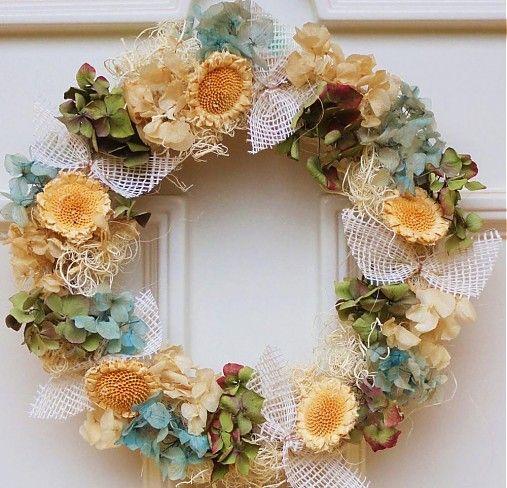 Flowers11 / Hortenzie s mašličkami
