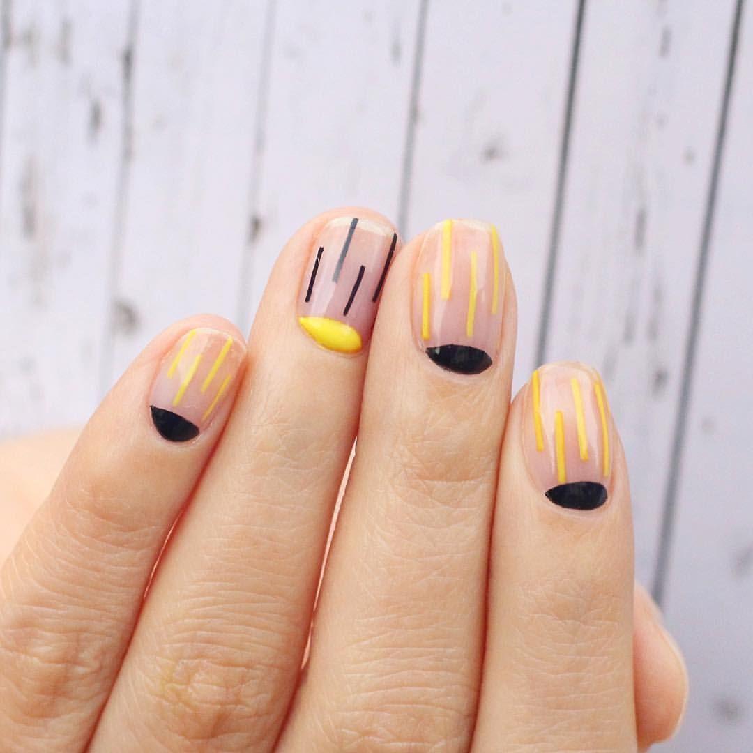 Nail Unistella by EK . Lab — | phon | Pinterest | Uñas minimalistas ...