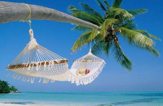 Quiero estar aqui!!!!! Beach wallpaper, Beach hammock