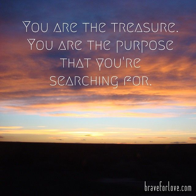 purpose #treasure #yoga #health #wellness #love #life