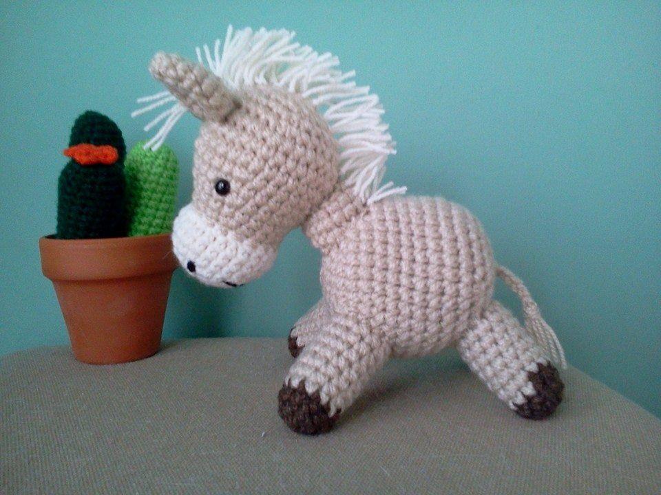 Amigurumis Caballitos A Crochet : Caballito tejido al crochet amigurumis