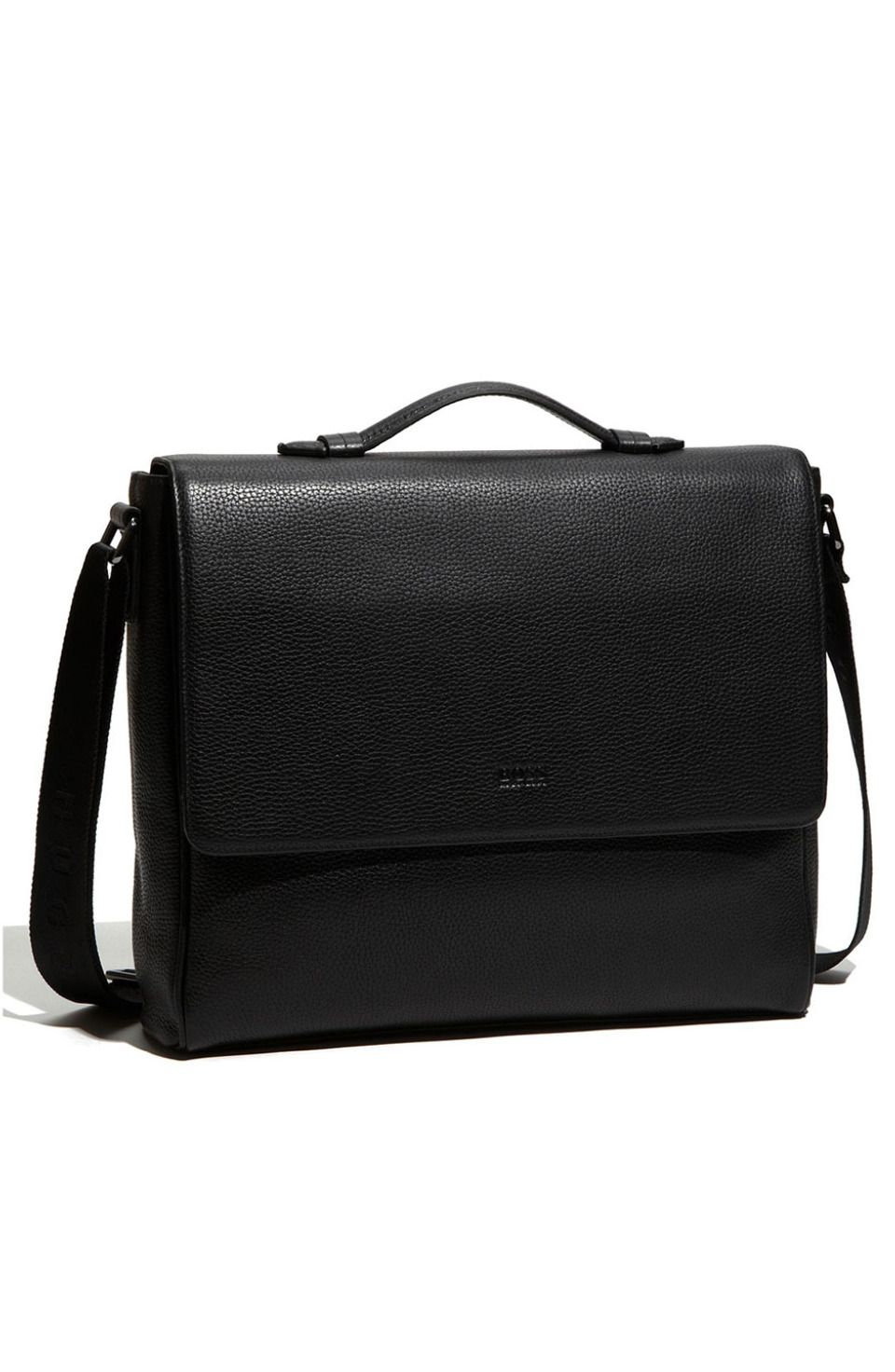 51361b556ca2 Bangor 2 Leather Messenger Bag Hugo Boss is for the self-confident man who  wants