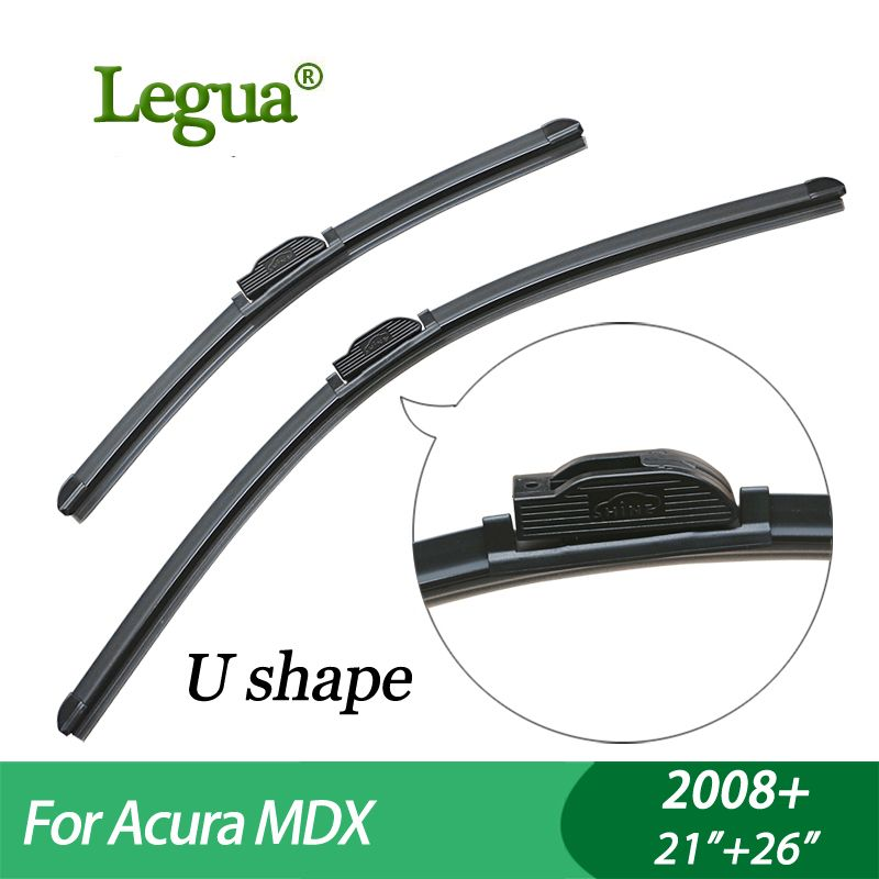 "Legua Wiper Blades For Acura MDX (2008+),21""+26"",car Wiper"