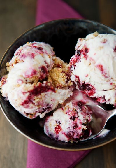 Huckleberry Cheesecake Ice Cream Recipe Use Real Butter