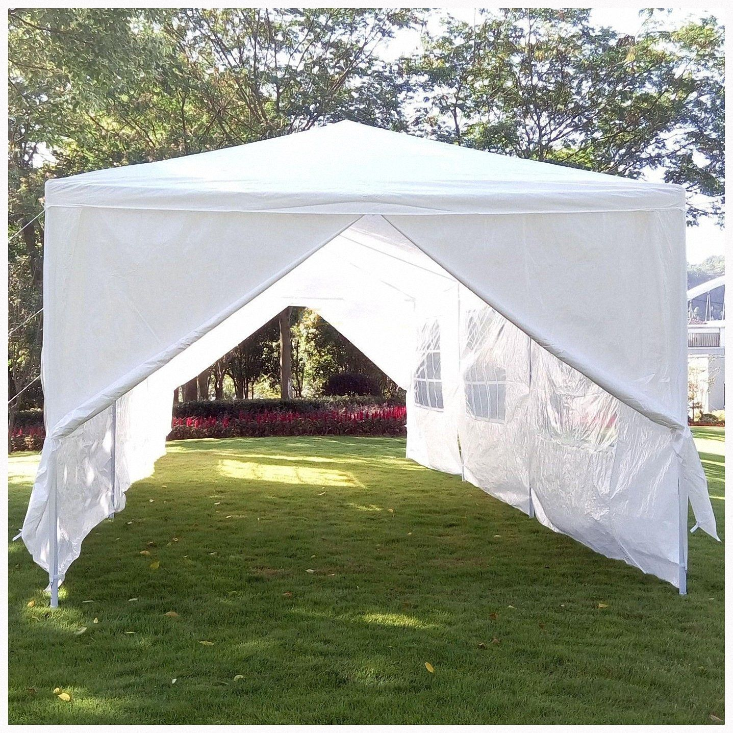 Amazon Com 10 X30 Party Wedding Outdoor Patio Tent Canopy Gazebo Pavilion Events Canopies 8 Side Walls Canopy Tent Outdoor Patio Tents White Canopy Tent