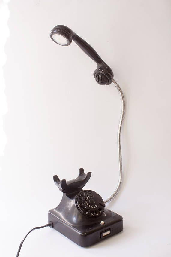 Telefon Lampe Etsy Antique Telephone Classic Telephone Old Phone