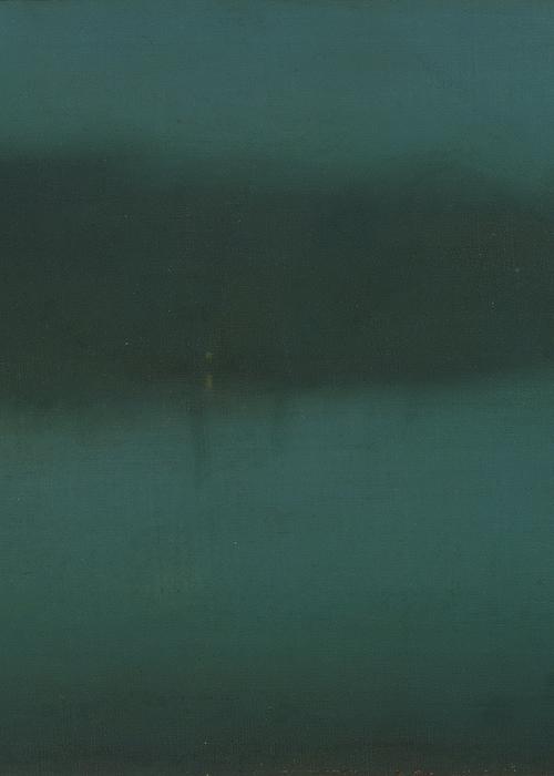 James Abbott McNeill Whistler, Nocturne (detail), 1875–80
