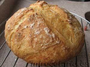 Pan milagro pan rápido con molde pirex