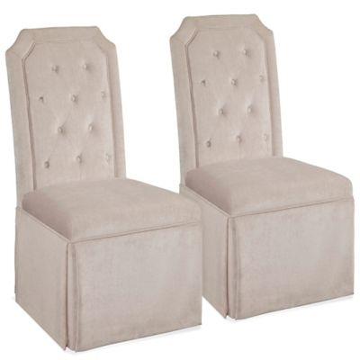 Bett Mirror Company Aramis Chair Set Of 2 Beige