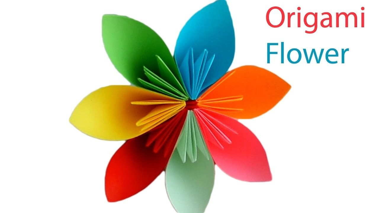Origami Flower How To Make A Beautiful Paper Flower Origami For