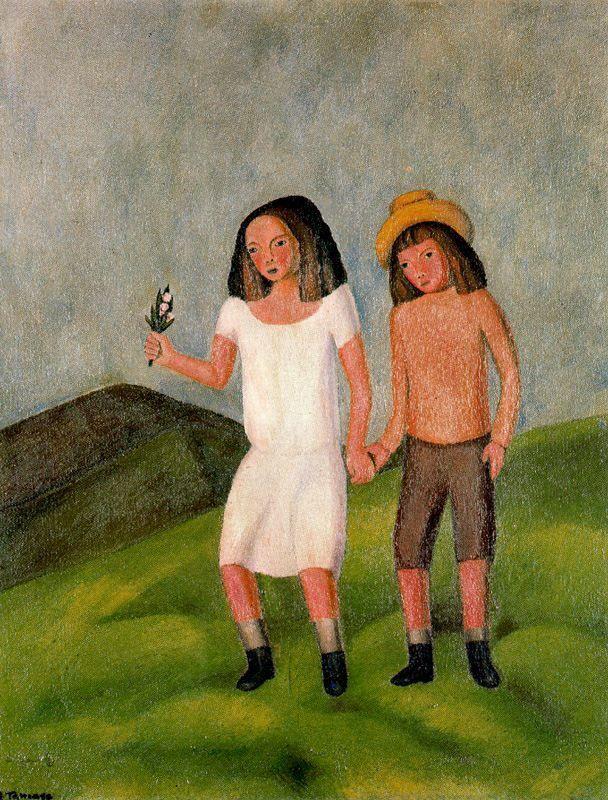 Niños. 1924.