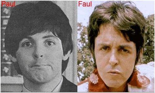 Paul is DEAD. | Paul is dead, Paul mccartney, Paul and linda mccartney