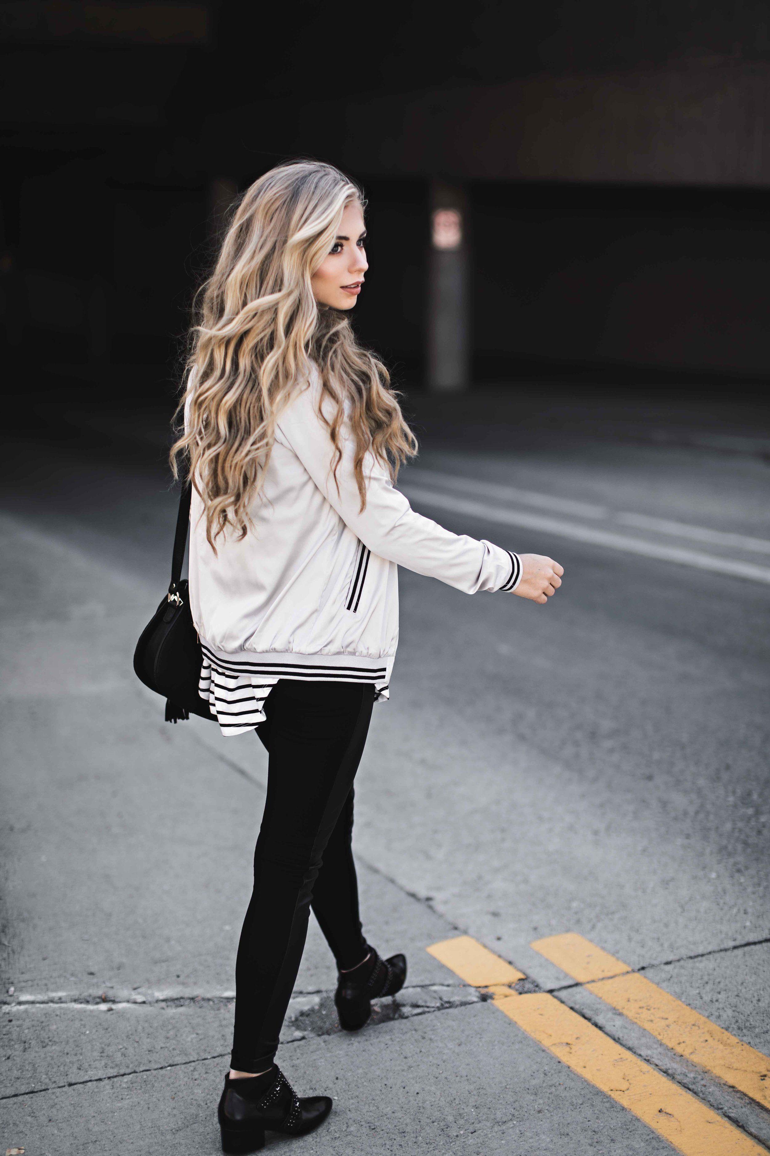 jessakae, fashion, womens fashion, style, stripes, street style