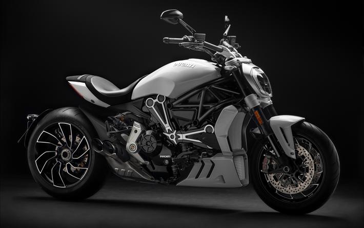 Descargar fondos de pantalla Ducati XDiavel S, 4k, 2018 bicicleta ...