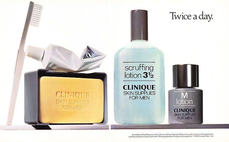 Clinique Clinique Men Irving Penn Clinique Ads Skin Soap