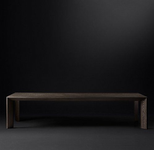 Arles Rectangular Dining Table RH Modern PROJECT Vestry Street - Rh modern dining table