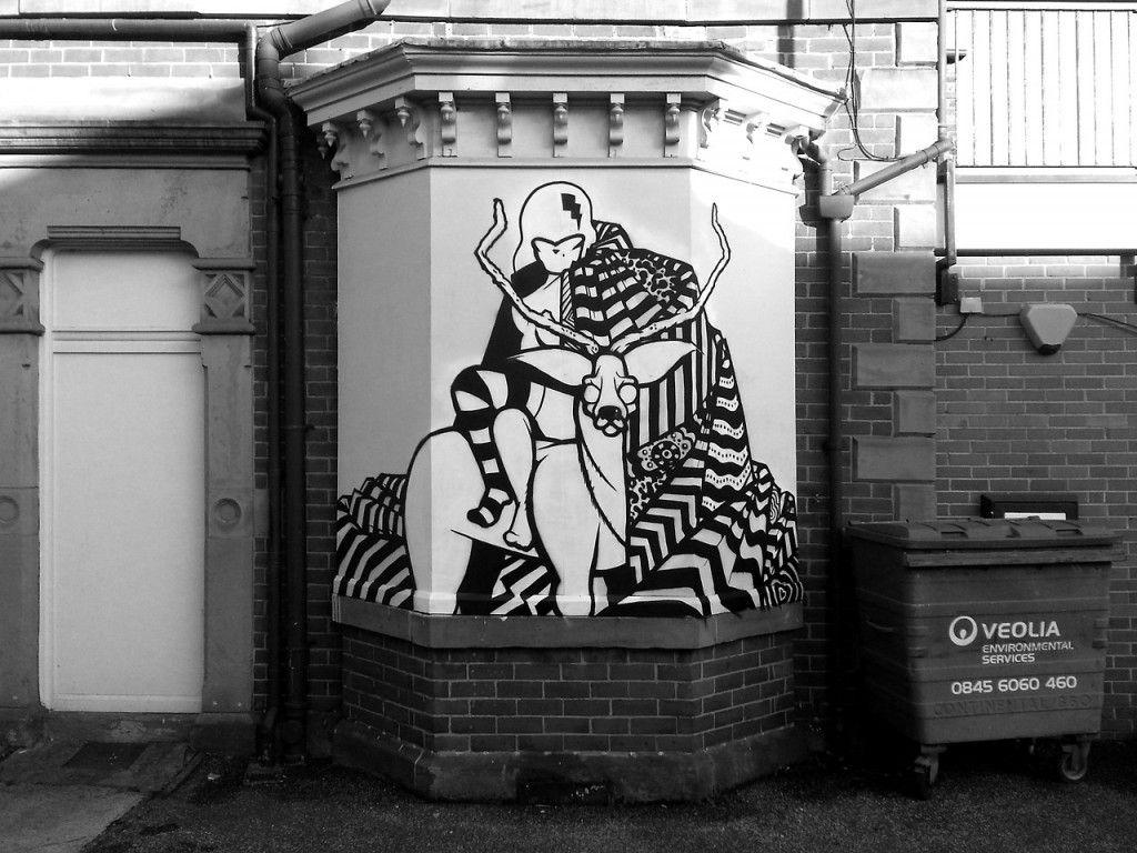 Graffiti wall tokyo - Sheffield Street Art Illustration Graphic Design Graffiti Milak Mila K