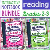 Interactive Reading Notebook Bundle for Grades 2-3
