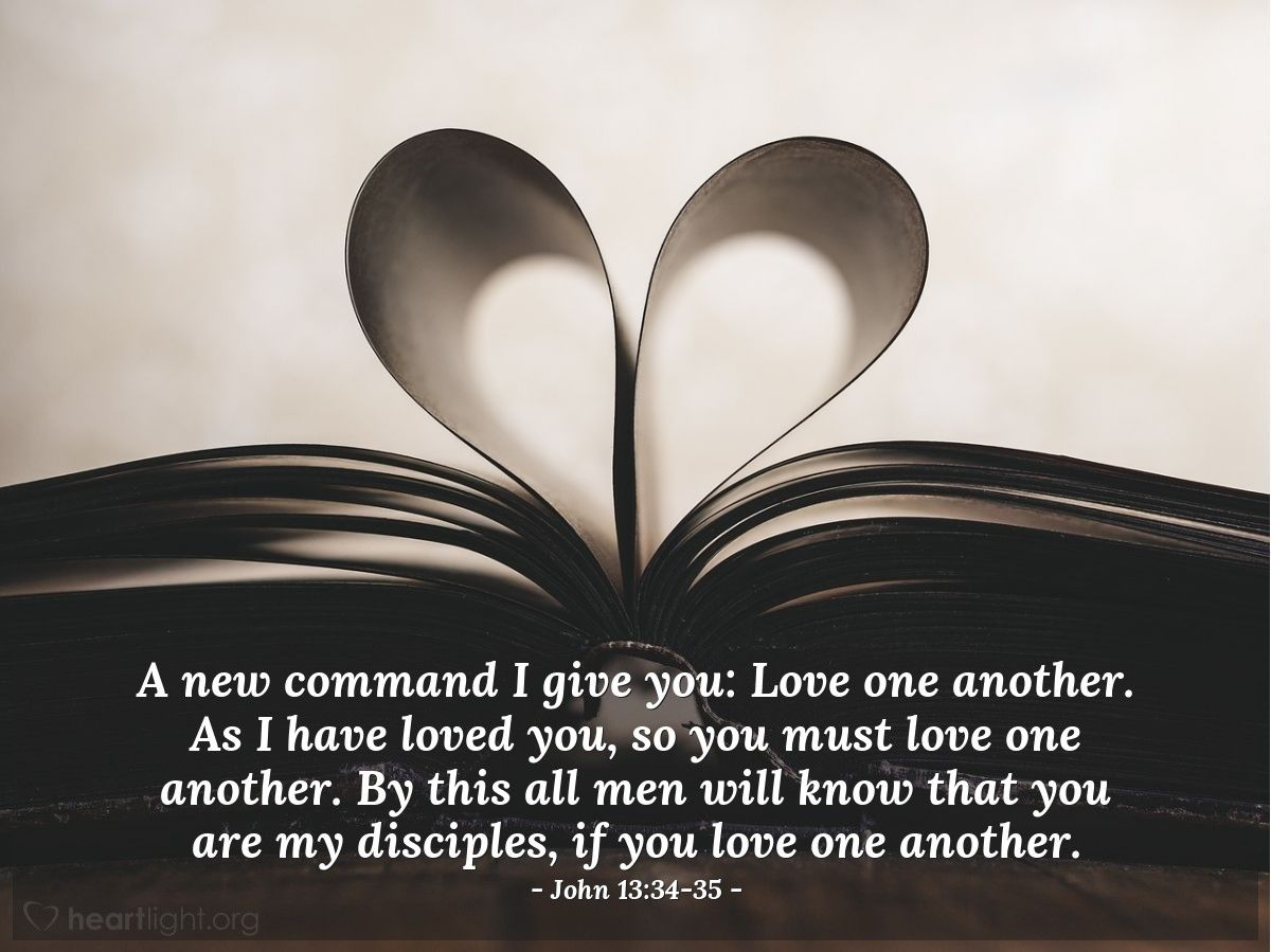 What Bible Verse Says Love One Another