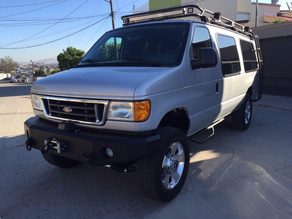 Ford : E-Series Van E350 DIESEL 4X4 VAN SPORTSMOBILE | 4x4 van ...
