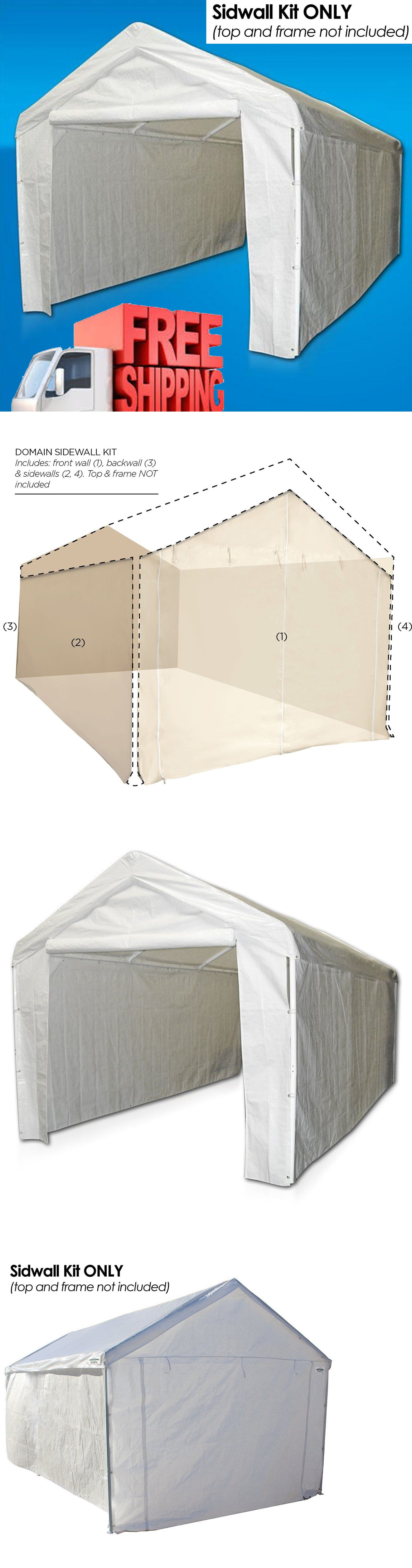 Awnings and Canopies 180992 Canopy Side Wall Kit 10X20