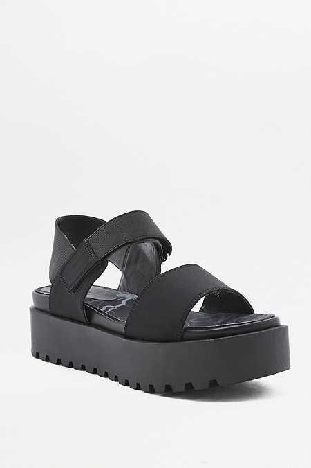 Onde Chaussures De Plate-forme Métallique Cuir Prada h7xXLhrl7h