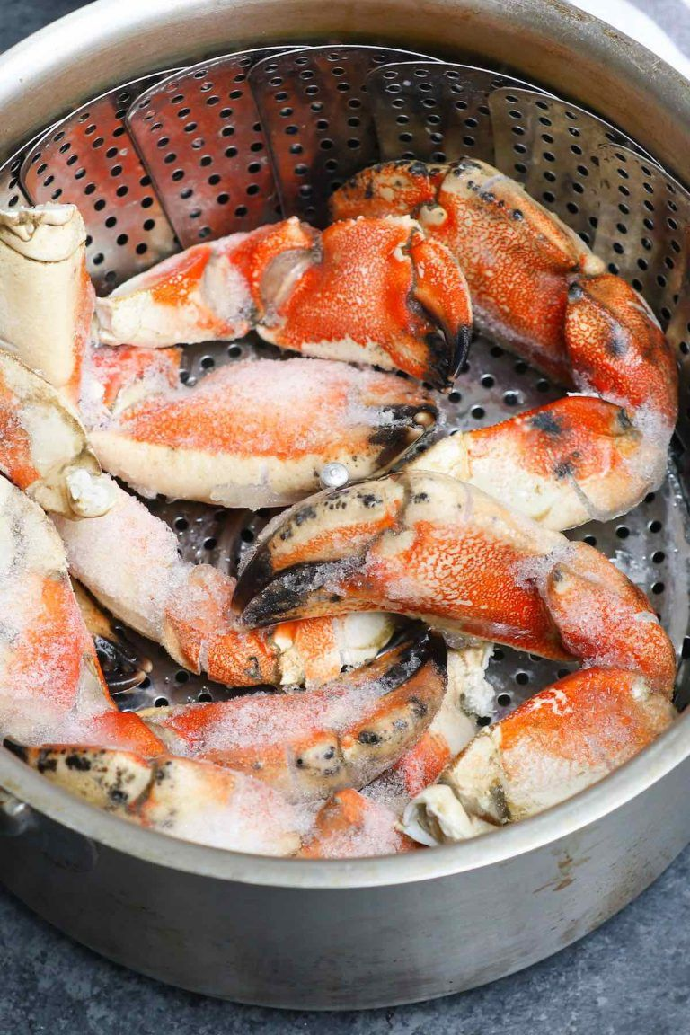 Defrosting frozen Jonah crab claws in 2020 (With images