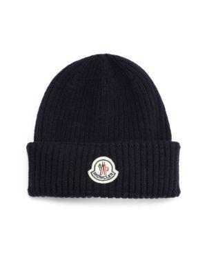 Moncler Ribbed Virgin Wool Beanie Moncler Beanie Wool Beanie Beanie Hats Beanie