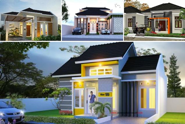 Desain Rumah Minimalis Modern Terbaru 2020 Di 2020 Home Fashion