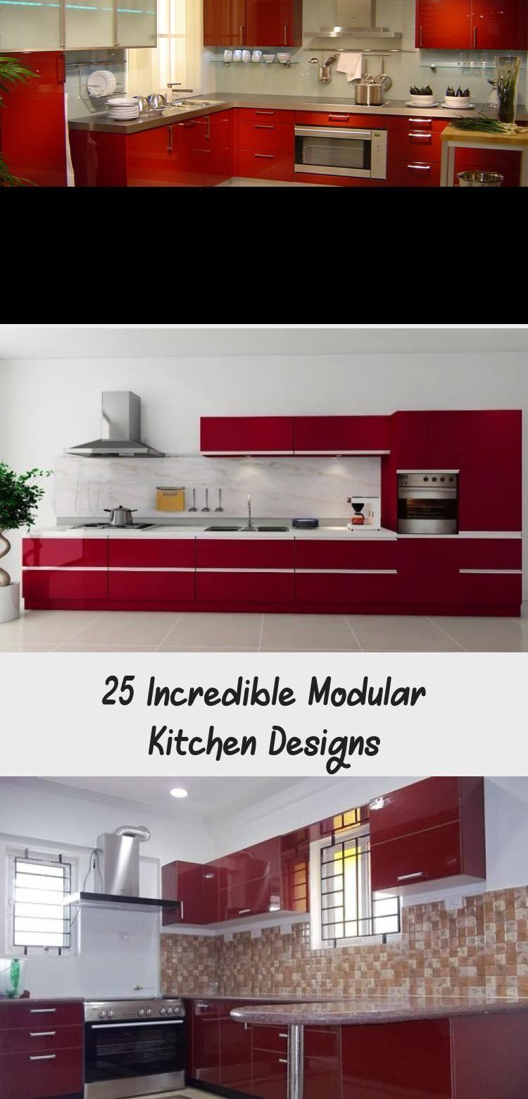 25 Incredible Modular Kitchen Designs In 2020 Stainless Steel Kitchen Design Top Kitchen Designs Kitchen Design