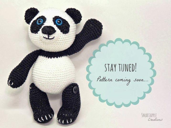 Amigurumi Panda Bear Crochet Pattern : Smartapple creations amigurumi and crochet amigurumi panda