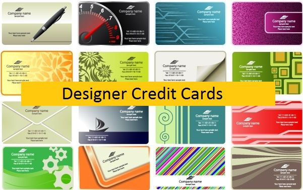 Designer Credit Cards Turn Your Normal Credit Card In