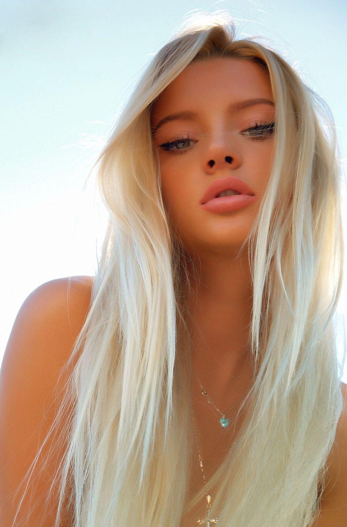 Pinterest Lupesg93 Beautiful Blonde Girl Long White Hair