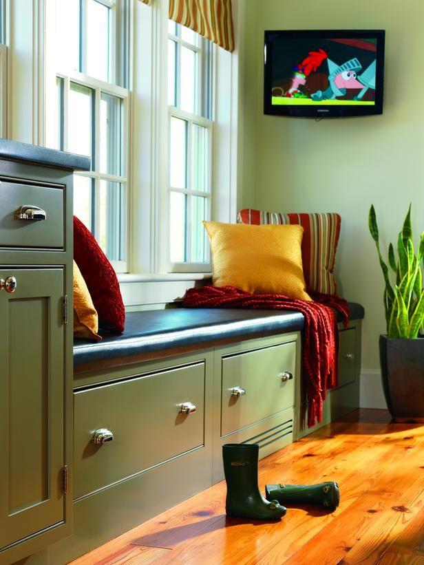 20 Hard-Working Mudrooms : Interior Remodeling : HGTV Remodels
