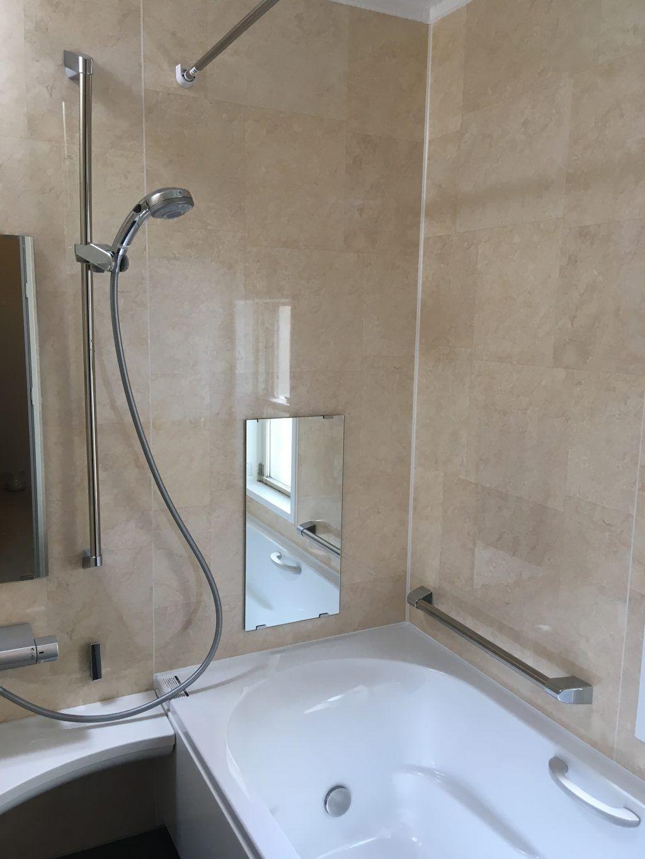 打倒 ホテルの浴室 Lixilアライズ施工しました 浴室 Lixil