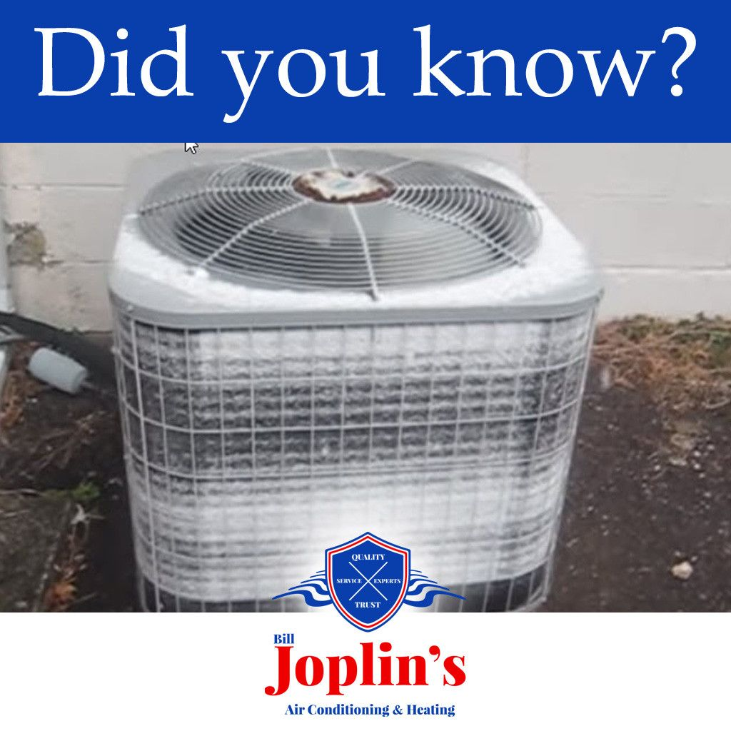Heat Pumps Will Develop Frost Or Ice On The Outdoor Coils As Part
