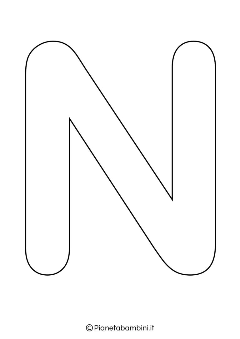 Lettere Alfabeto Da Copiare lettere dell'alfabeto da stampare, colorare e ritagliare