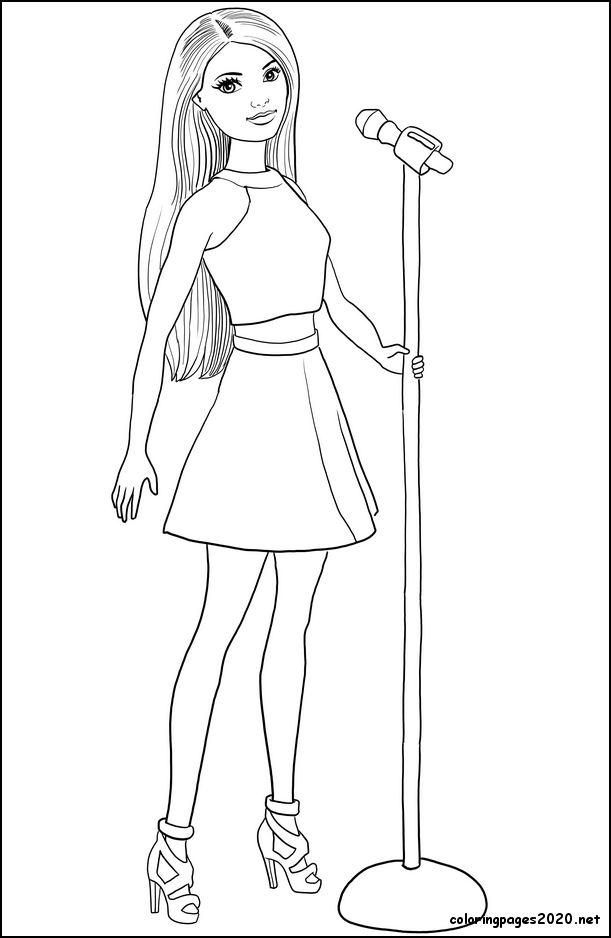 15 Best Cute Barbie Coloring Pages Printable Barbie Coloring Pages Barbie Coloring Fairy Coloring Pages