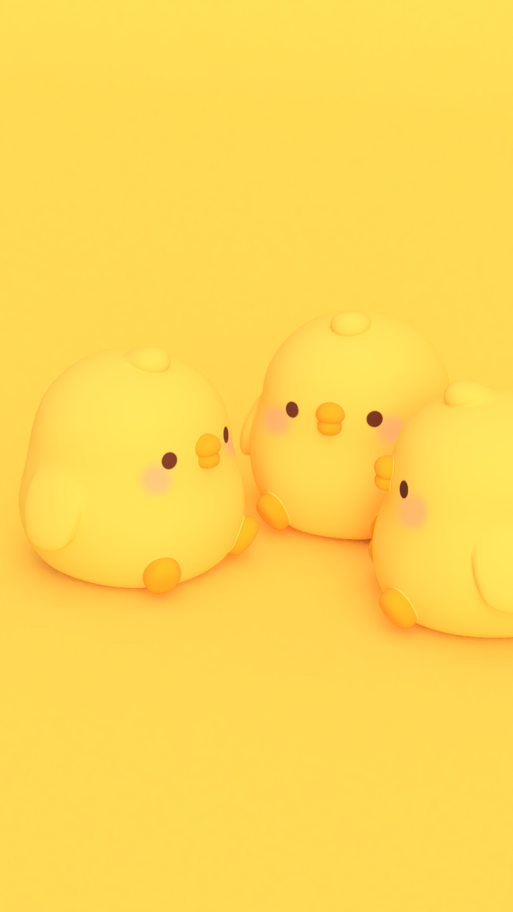 Molrang Oi Rauch Rauch 8 Reizend Gelber Hintergrund Naver Blog Yellow Wallpaper Yellow Aesthetic Cute Wallpapers