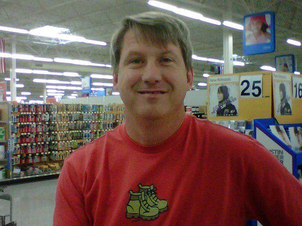 My handsome husband,   James Gibson