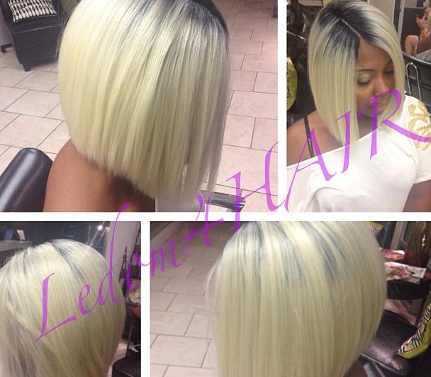 Nirvana Hair Salon Blonde Bob By Yvonne Specialities Healthy