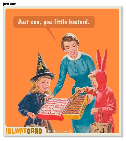 Yo si la aplicó cuando tocan a mi puerta!! #sarcasm #halloween
