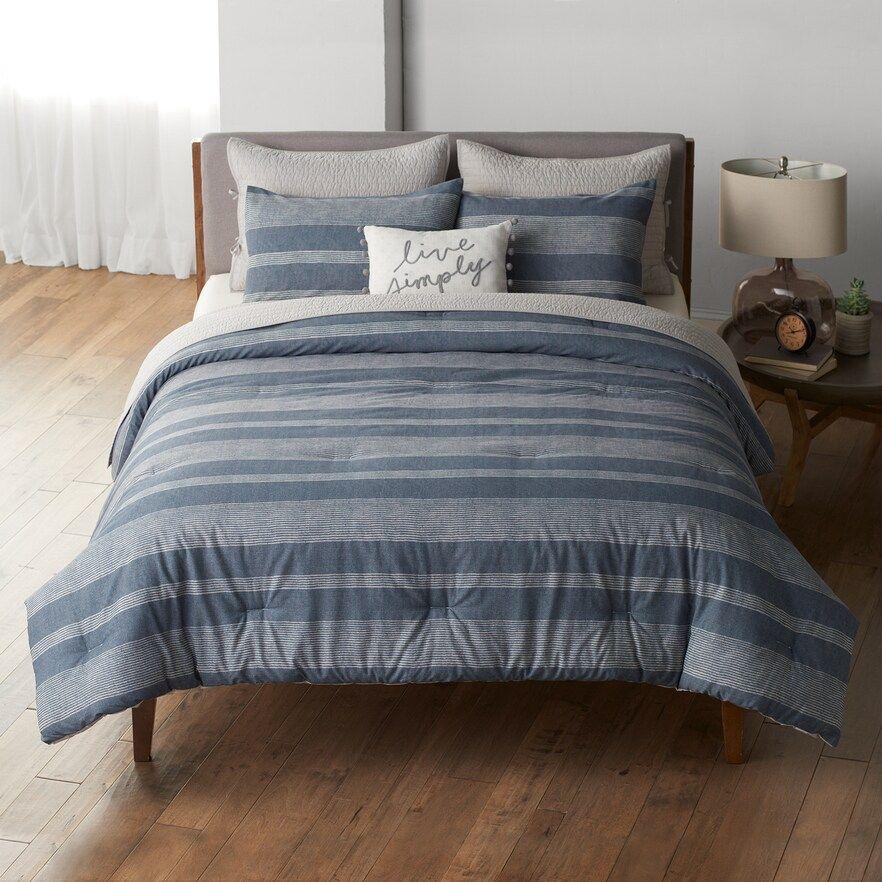 Sonoma Goods For Life® Farmhouse Stripe Duvet Cover Set